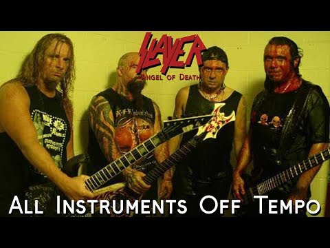 Slayer - Angel of Death (All Instruments Off Tempo)