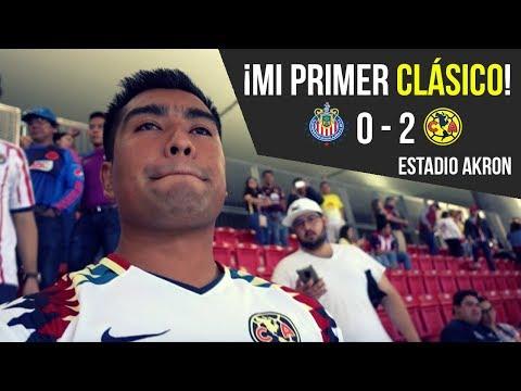¡Mi Primer CLASICO en el ESTADIO! - AMERICA VS CHIVAS