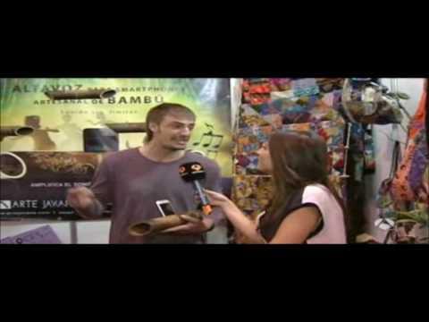 Antena 3 Tv. entrevista a Koldo Salas en Biocultura Madrid