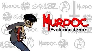 Evolucin de voz  Murdoc