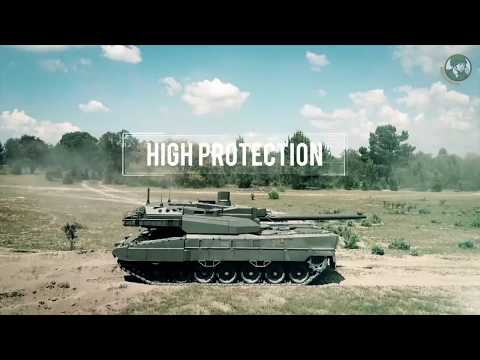 EMBT Enhanced Main Battle Tank European MBT Unveiled By KNDS Nexter KMW Eurosatory 2018