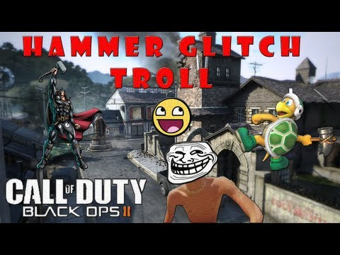 Black Ops 2 - Golpeos Glitch (Funny Moments, Trolling, Reacciones)