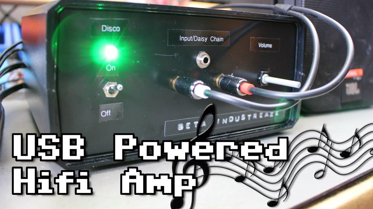 DIY USB Powered Hifi Amplifier