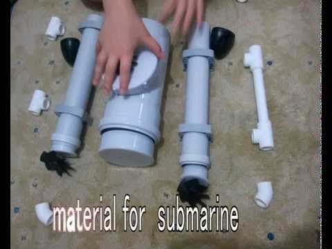 HOMEMADE SUBMARINE, HOMEMADE ROV