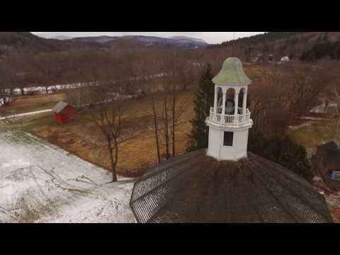 Winter Skies (Drone highlights from Chittenden County VT)