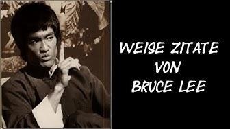 Bruce Lee weise Zitate | Sprüche | Weisheiten | Geistige Evolution
