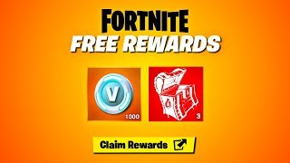 GET 4 FREE ITEMS NOW in Fortnite! (FREE REWARDS)