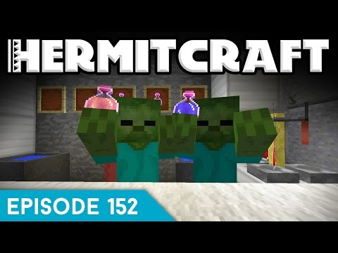 Hermitcraft IV 152 | POTION BREWING ROOM | A Minecraft Let's Play