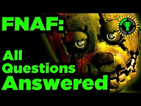 Thumbnail: Game Theory: FNAF Mysteries SOLVED pt. 1