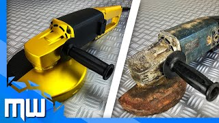 Angle Grinder Gold Rich 💎 Old - Rusty Restoration & Repair 🔧 Winkelschleifer