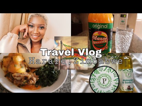 I FINALLY Went Back Home To ZIMBABWE| Travelling Experience, Shopping, A Few Days In Zimbabwe