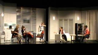 Óbudai Nyár 2011 Színház a Zichy udvarban 2011.07.10. Mark Dunn - Öt nő az esőben.wmv