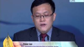 Peter Lee, Global Outstanding Chinese 100 Organization, Singapore at Jalsa 2014