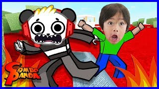 Roblox Lava Breakout I FOUND RYAN ToysReview Let's Play with Combo Panda