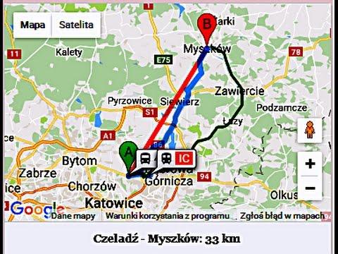 Cb radio test łączności OS212 Artur mobil trasa Myszków Czeladź BD 698