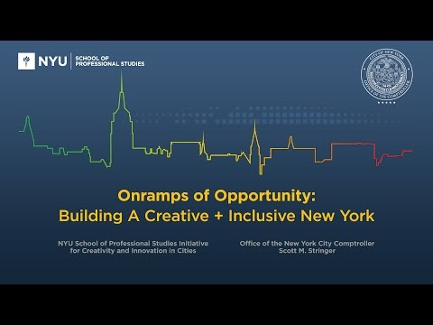 On-Ramps of Opportunity: Building a Creative + Inclusive New York