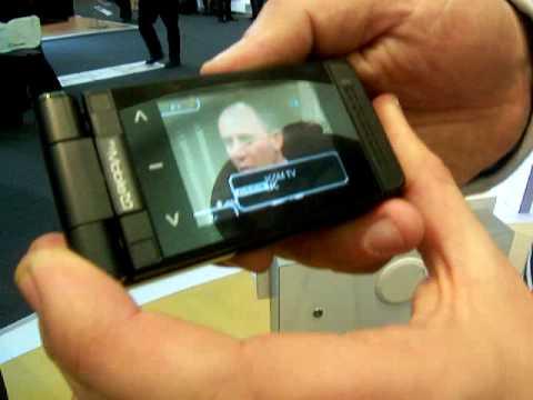 Shiny at 3GSM: Sagem My Mobile TV