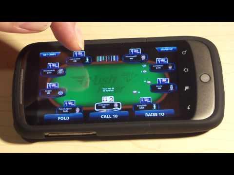 Full Tilt Rush Poker For Android Mobile Demo