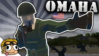 NEW WW2 OMAHA BEACH LANDING MAP! | Ravenfield Weapon and Vehicle Mod Beta Gameplay
