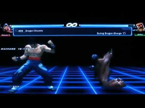 Tekken Tag Tournament 2 - Marshall Law Command List