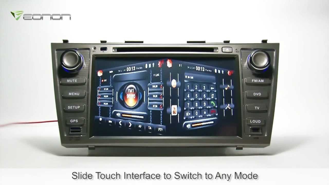 Eonon D5116 Specific Toyota Camry Car DVD GPS with Newest 2012 Sygic Map