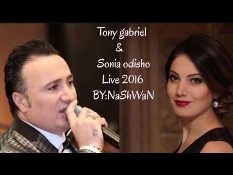 Tony gabriel & sonia odisho live 2016 track3 (khega yaqora)