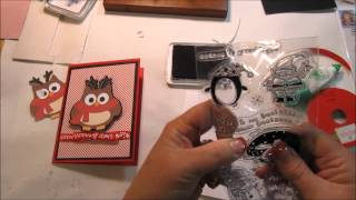 Christmas 2014 Cards and Crafts Series - Holiday Owl MOV