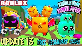 *TOY SERPENT* LEGENDARY PET CODE, NEW LAND, EGGS & CURRENCY | BUBBLEGUM SIMULATOR *UPDATE 13* ROBLOX