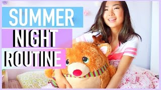Night Routine for Summer | JENerationDIY