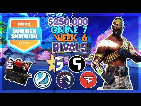 $250,000 🥊Rivals Summer Skirmish🥊 Week 6 Game 7 (Fortnite)