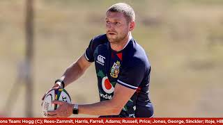 Lions name team to face Emirates Lions