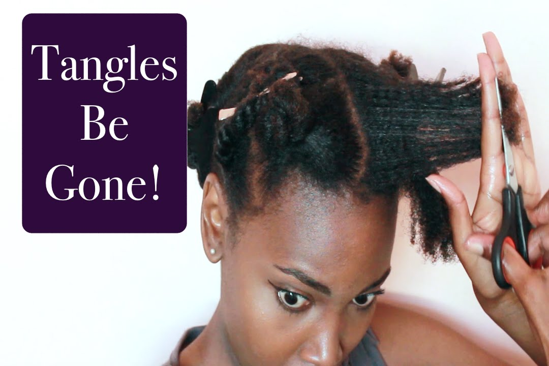 How To Stop Split Ends On Natural Hair