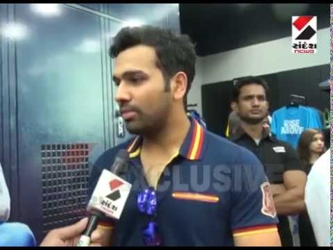 Rohit Sharma's Exclusive interview with Sandesh news