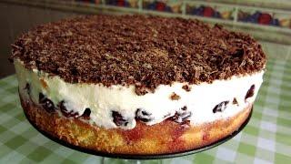 """Торт с вишней """"Наслаждение"""""""