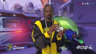 Snoop Dogg Plays Overwatch