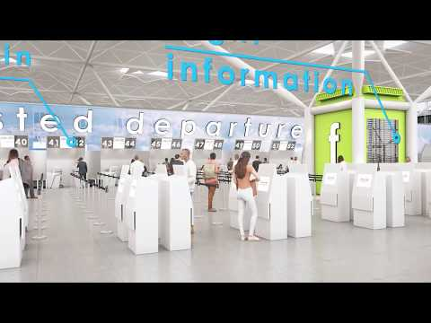 London Stansted Transformation - Fly-through Animation