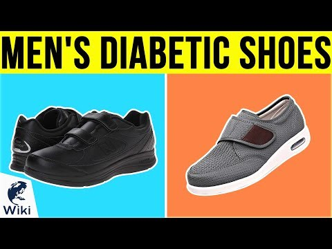 10 Best Men's Diabetic Shoes 2019