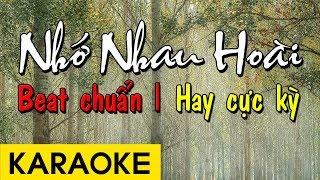 Gambar cover Nhớ Nhau Hoài - Karaoke Beat Chuẩn Hay