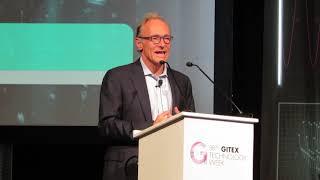 Tim Berners-Lee at Dubai Technology Week Gitex 2018