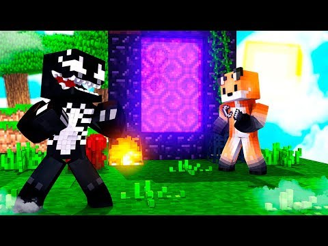 Minecraft SkyExtreme 4 Ativamos o Portal