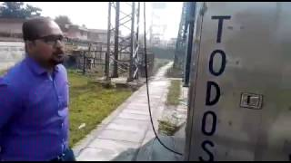 working video of transformer oil online dry out system in hindi
