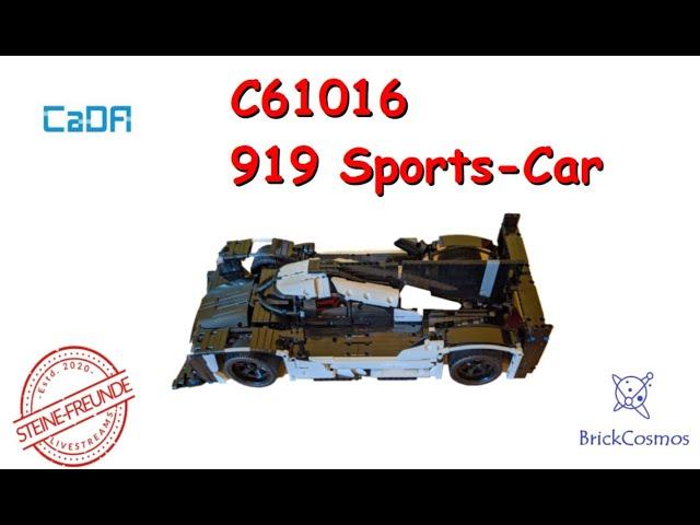 CaDA 919 Sports Car C61016