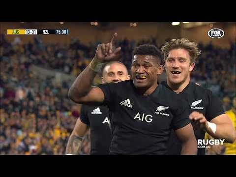 Bledisloe Cup: Wallabies vs All Blacks, Sydney