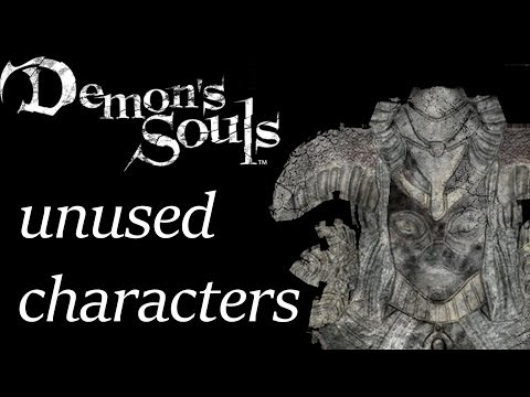 Demon's Souls unused character models