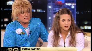 La Tota y Paula Pareto, Bronce en judo - Susana Gimenez