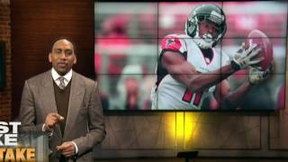 STEPHEN A SMITH SHOWS RESPECT TO JULIO JONES #RISEUP