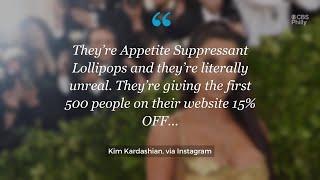 Kim Kardashian Blasted for Promoting 'Appetite Suppressant' Lollipops