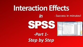 Interaction effects - Two Way ANOVA (Part 1)