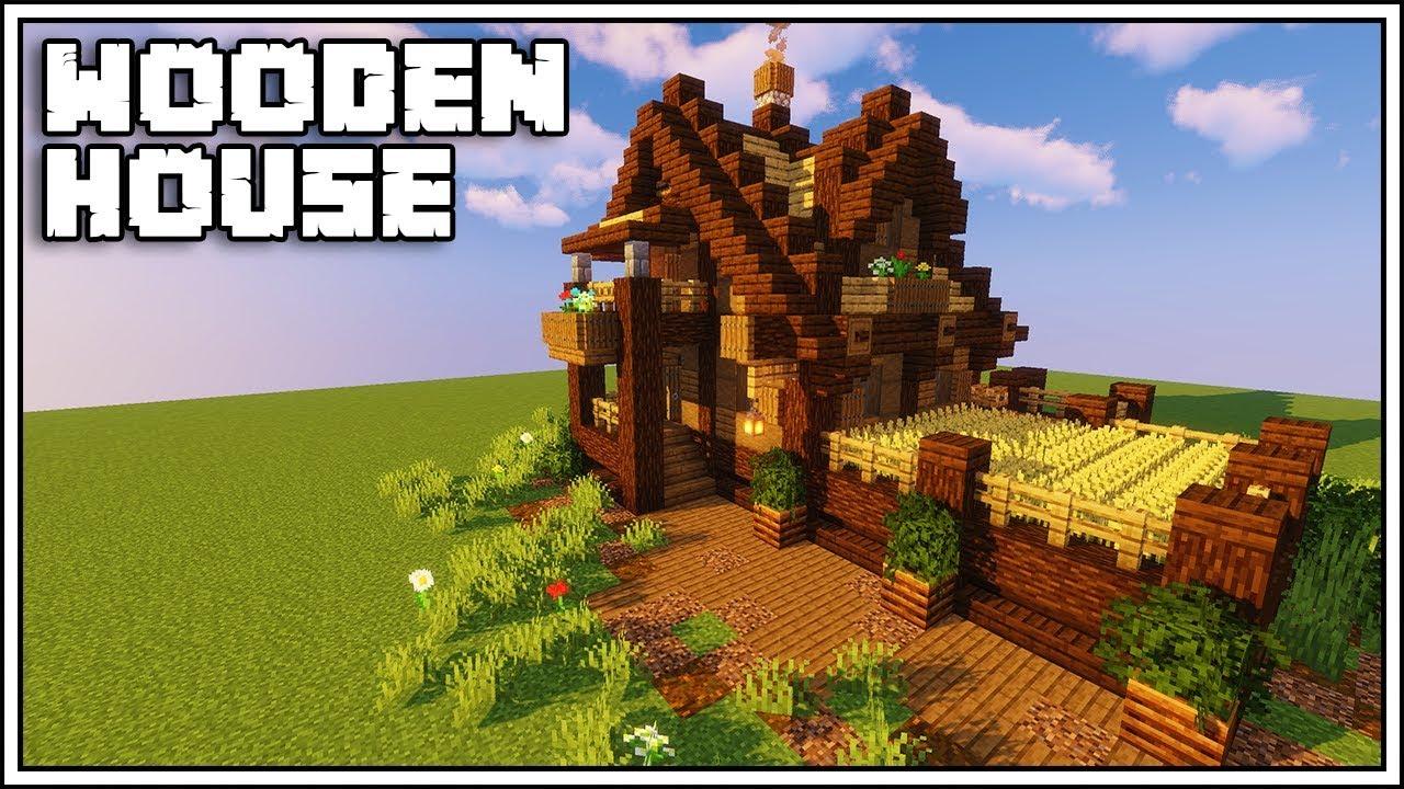 Minecraft Wooden House Tutorial
