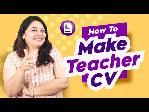 HOW TO MAKE A TEACHER CV   TEACHERPRENEUR